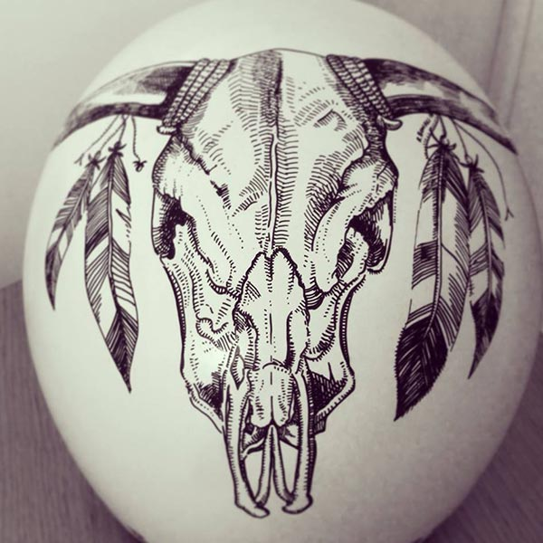 Oddity Tattoo Studio Custom Helmets