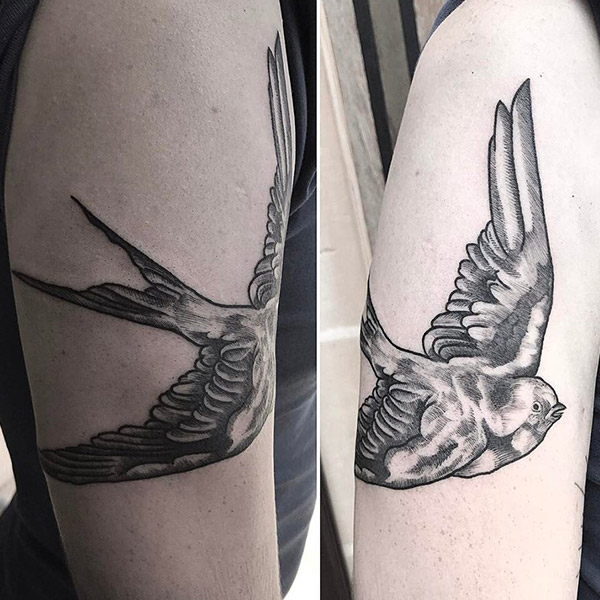 Oddity Tattoo Studio Rebecca Bonaci Portfolio